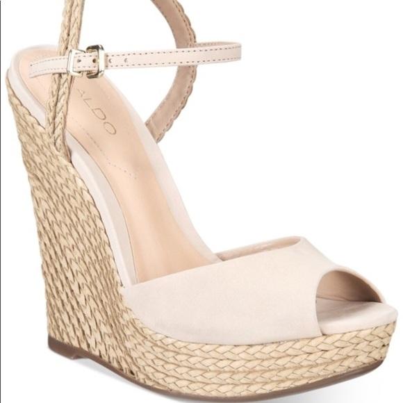 95d28caa93 Aldo Shoes   Shizuko Anklestrap Wedge Sandals   Poshmark